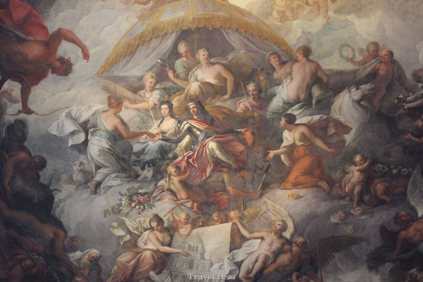 Painted Hall plafonschildering