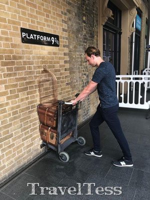 3/4 Harry Potter platform