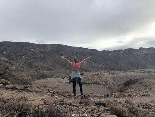 Vrijheid in het El Teide National Park