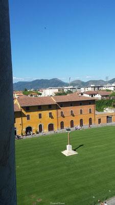 Uitzicht vanaf de Scheve Toren van Pisa