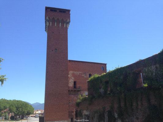 Romeins fort in Pisa