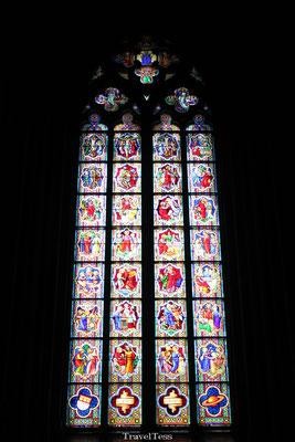 Glas in lood in de Dom van Keulen