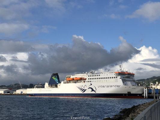 Met de Ferry naar het Zuidereiland van Nieuw-Zeeland