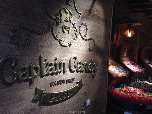 Captains Candy snoepwinkel Praag
