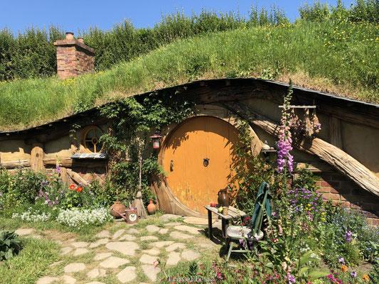 Hobbit huisje hobbiton