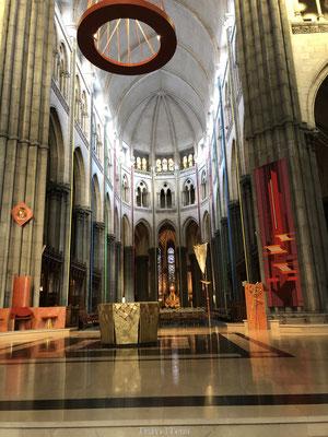 Interieur kerk in Lille