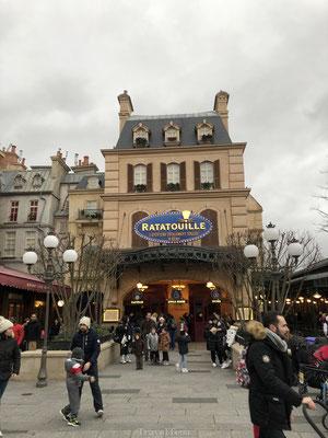 Ratatouille attractie Walt Disney Studio's
