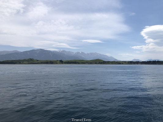 Mooie baai van Kaikoura