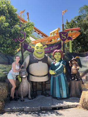 Shrek thema Dreamworld