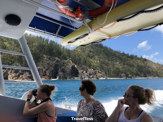 Ocean rafting Whitsunday Islands