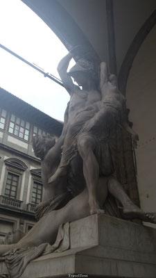 Standbeeld op Piazza Della Signoria