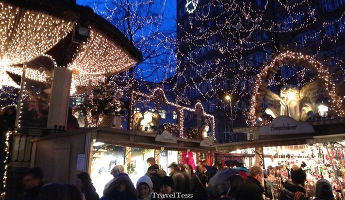 Düsseldorf kerstmarkten