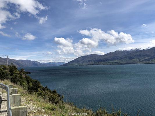 Onderweg naar Lake Wanaka