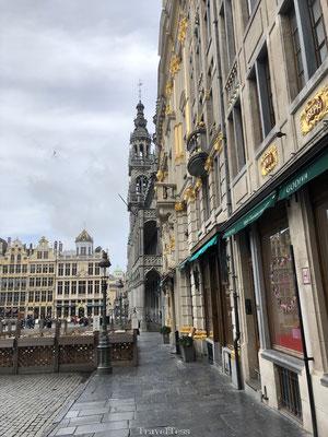 Mooi plein in Brussel