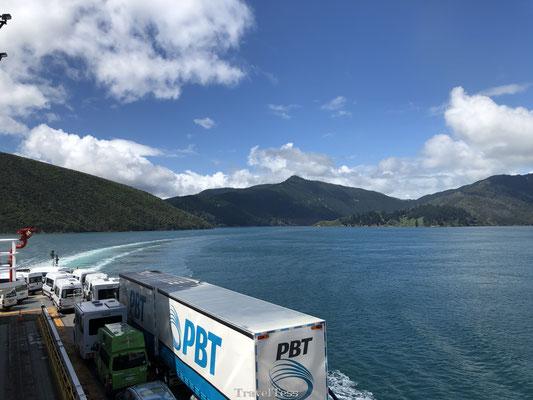 Varen naar het Zuidereiland