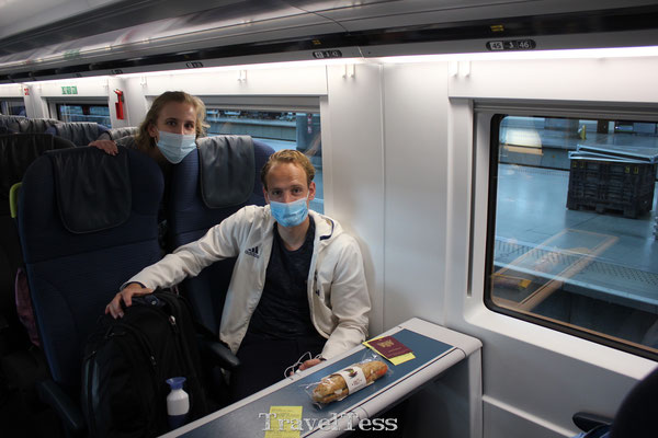 Treinreizen met de Eurostar