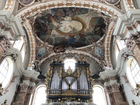 Plafond Dom van Innsbruck