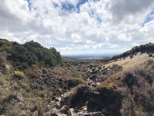 Bewolking Tongariro National Park