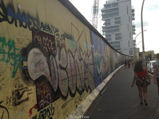 East Side Gallery Berlijnse Muur