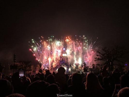 Vuurwerkshow Disneyland Parijs