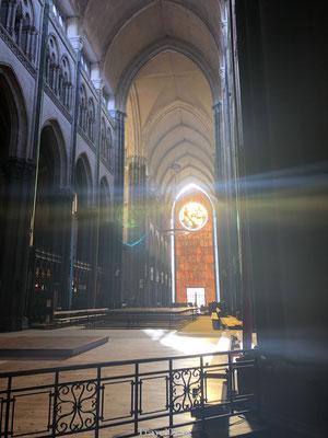 Lichtinval Kathedraal van Rijsel