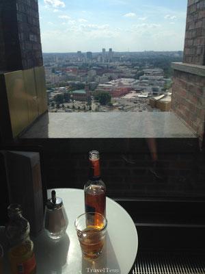 Drankje doen bij top Panoramapunkt Berlijn