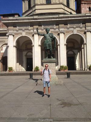 Plein in Milaan