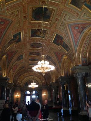 Operagebouw Boedapest interieur