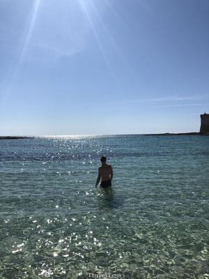 Mooie zee bij strand Porto Cesareo