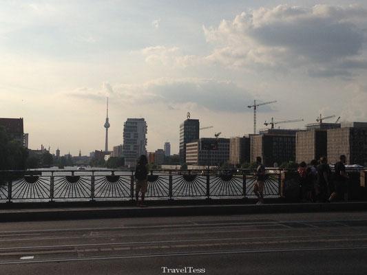 Brug in Berlijn