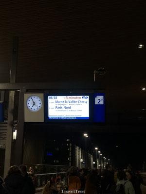 Met de trein Thalys naar Disneyland Parijs