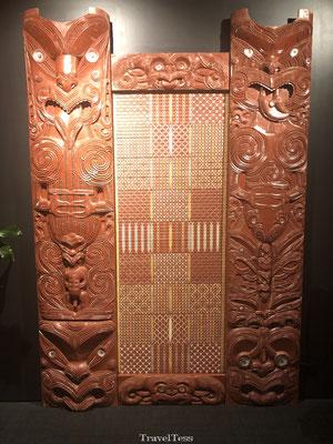 Maori kunt in Te Puia