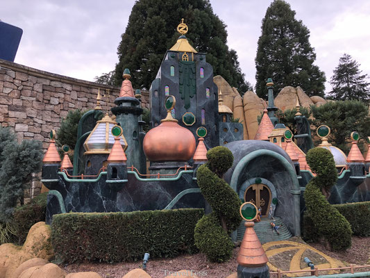 Decoratie Disneyland Parijs