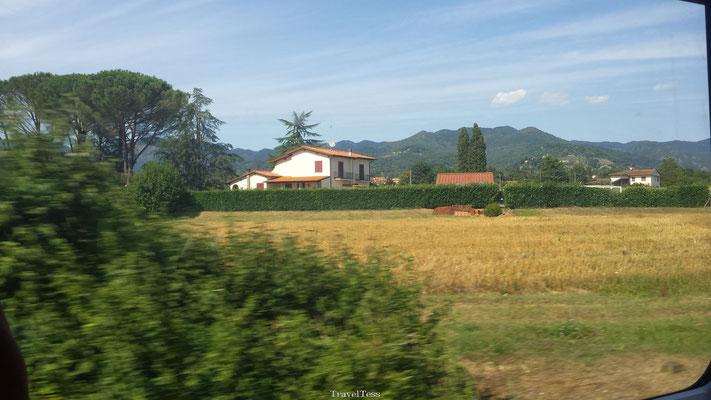 Treinreis Noord-Italië