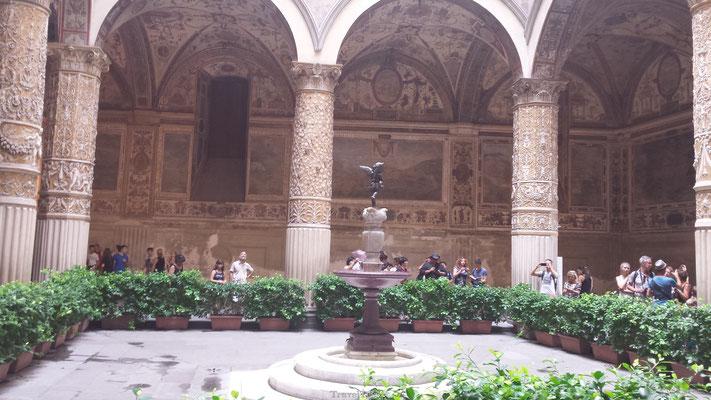 Binnenplaats Florence