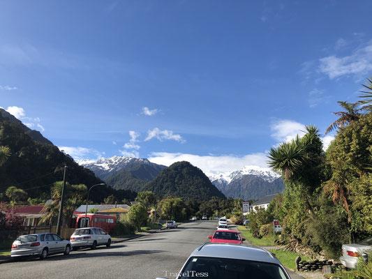 Franz Josef Glacier dorp