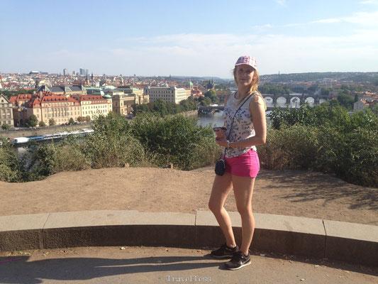 Uitzichtpunt Praag
