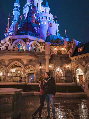 Disneyland Parijs huwelijksaanzoek
