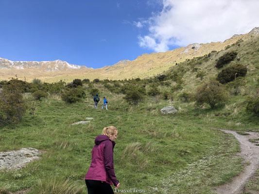 Zware klim naar de top van Roys Peak