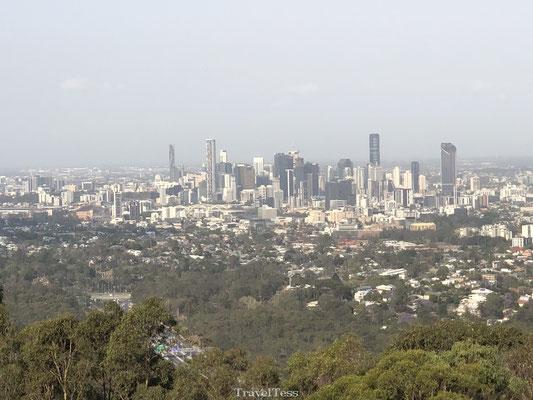 Uitzicht vanaf Mount Coot-Tha Lookout