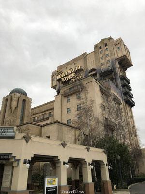 Hollywood Tower Disneyland Parijs