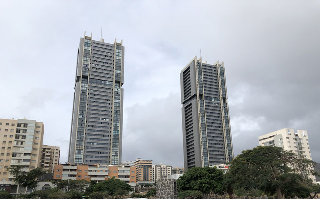 Twin Towers van Santa Cruz de Tenerife
