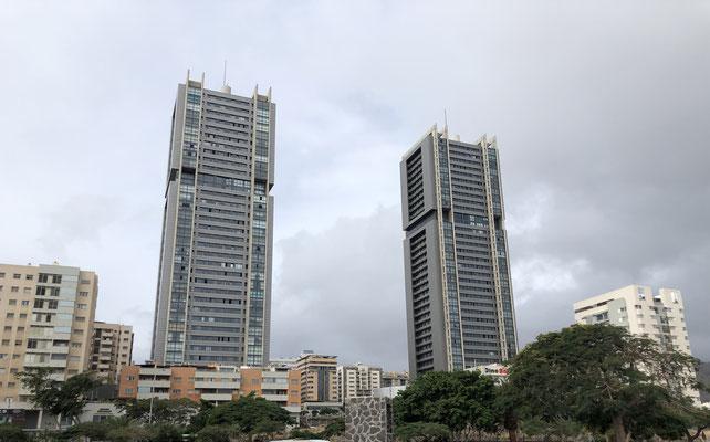 Twin Towers van Santa Cruz de Tenerife