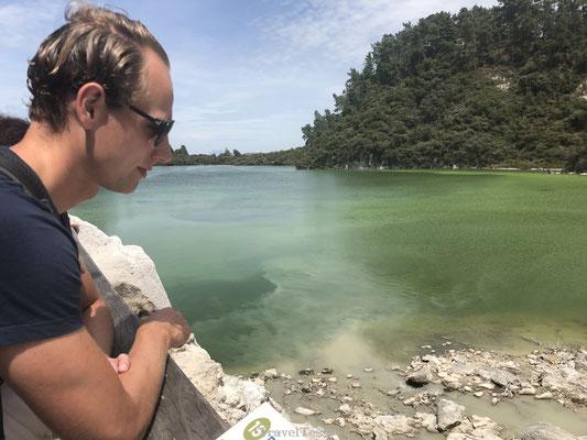 Vulkanisch meer in Wai-O-Tapu