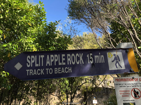 Split Apple Rock bord