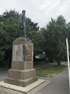 Standbeeld in Christchurch