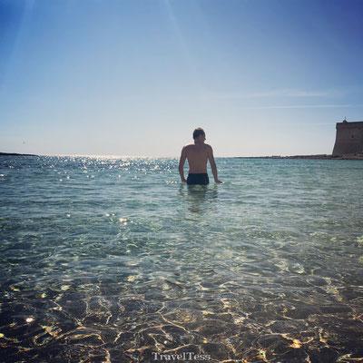 Mooie kust Porto Cesareo