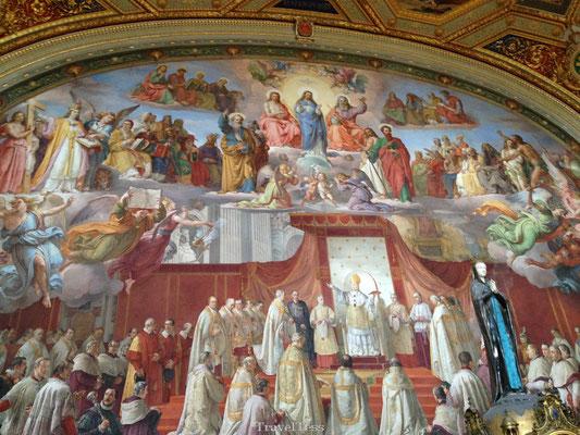 Sixtijnse Kapel muurschildering