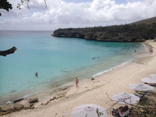 Grote knip strand