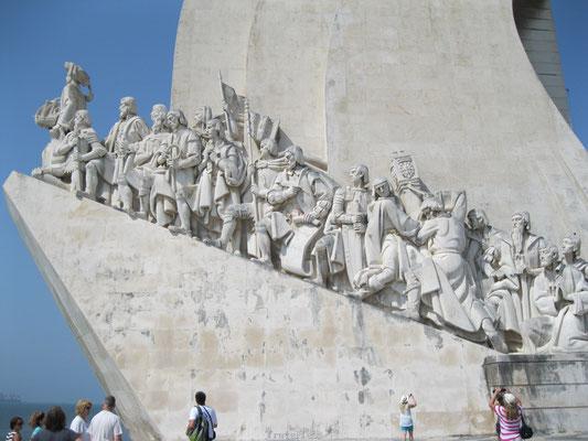 Monument van de Ontdekkingsreizigers in Lissabon